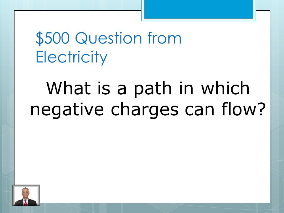 $400 Answer from Electricity Electromagnet