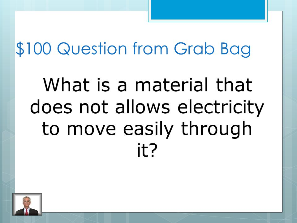 $500 Answer from Electricity Electric Current