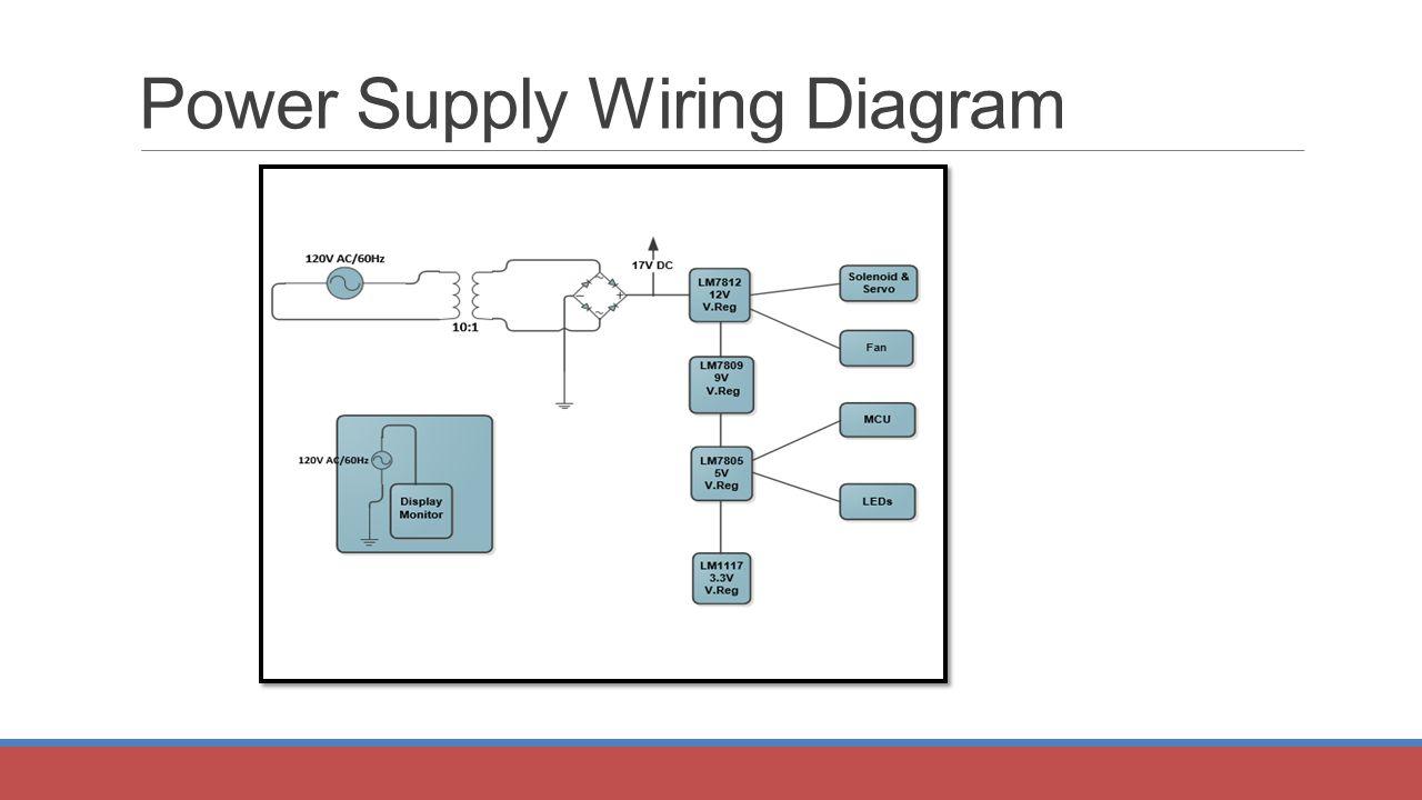 Striker Autonomous Air Hockey Gaming Experience Group 8 Brian 120v Ac Power Supply Wiring Diagram 28
