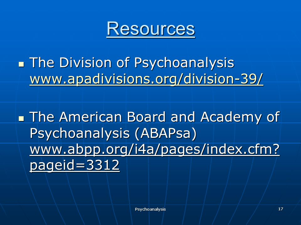 Abpp psychoanalysis and sexuality