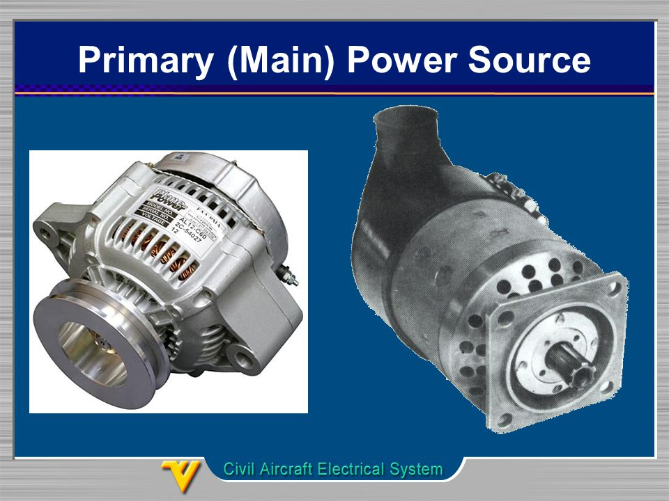 Primary (Main) Power Source