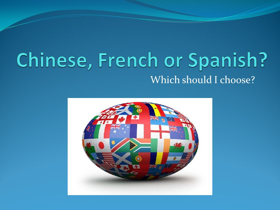 Which should I choose?  The World of Chinese Why study