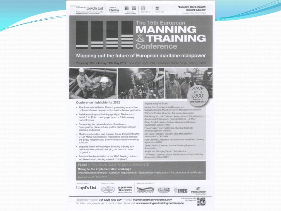 International Conference on SEAFARERS\' EDUCATION, TRAINING & CREWING ...