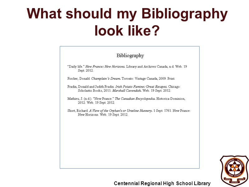 what is biblography