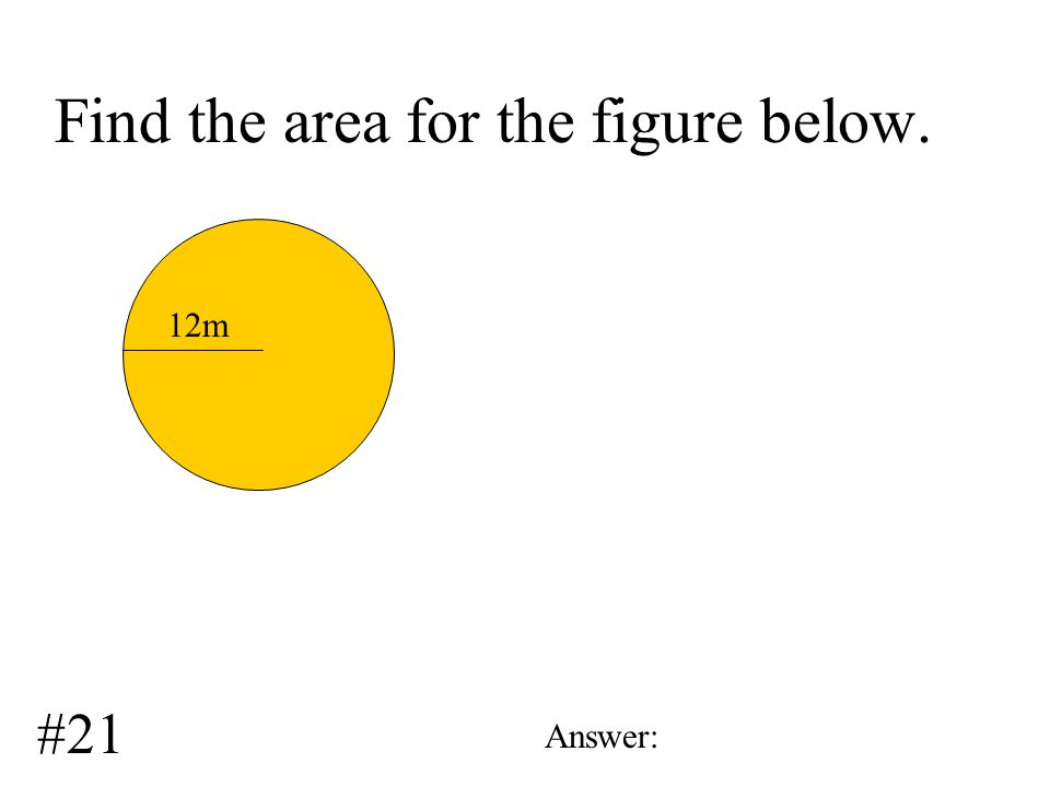 Find the perimeter for the figure below. 31.9 m 23.5m Answer: #20