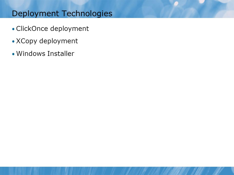 Module 15 Configuring and Deploying Windows Client