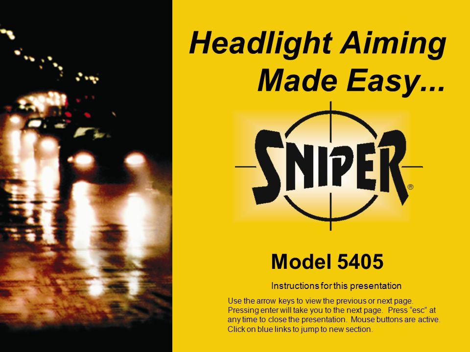 Optical Headlight Aimers From Lujan Usa Press Enter To Start