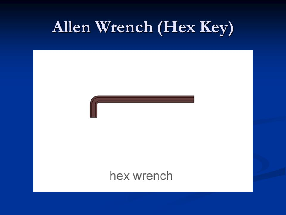 Allen Wrench (Hex Key)