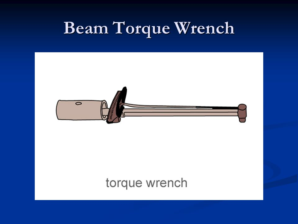 Beam Torque Wrench
