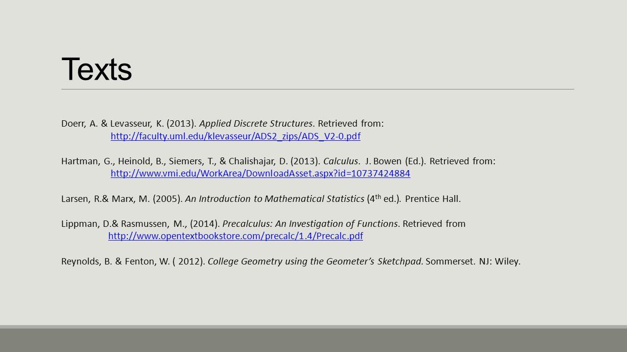 Mathematics Content Defense CRISPIN A E STROMBERG  - ppt