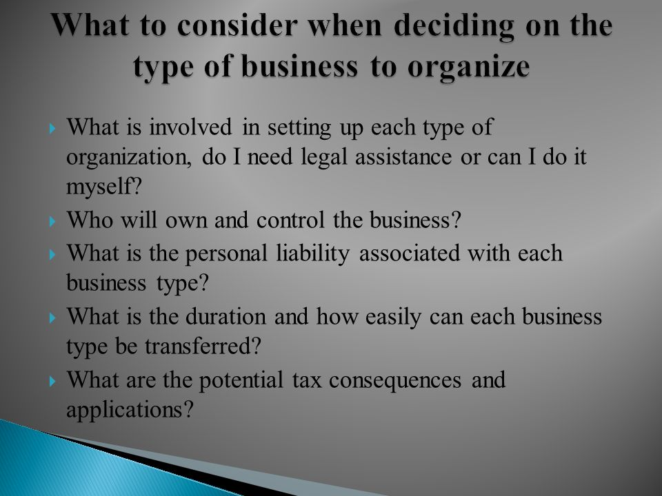 Presenter christopher m pacheco esq shareholder lastrapes what is involved in setting up each type of organization do i need legal solutioingenieria Gallery