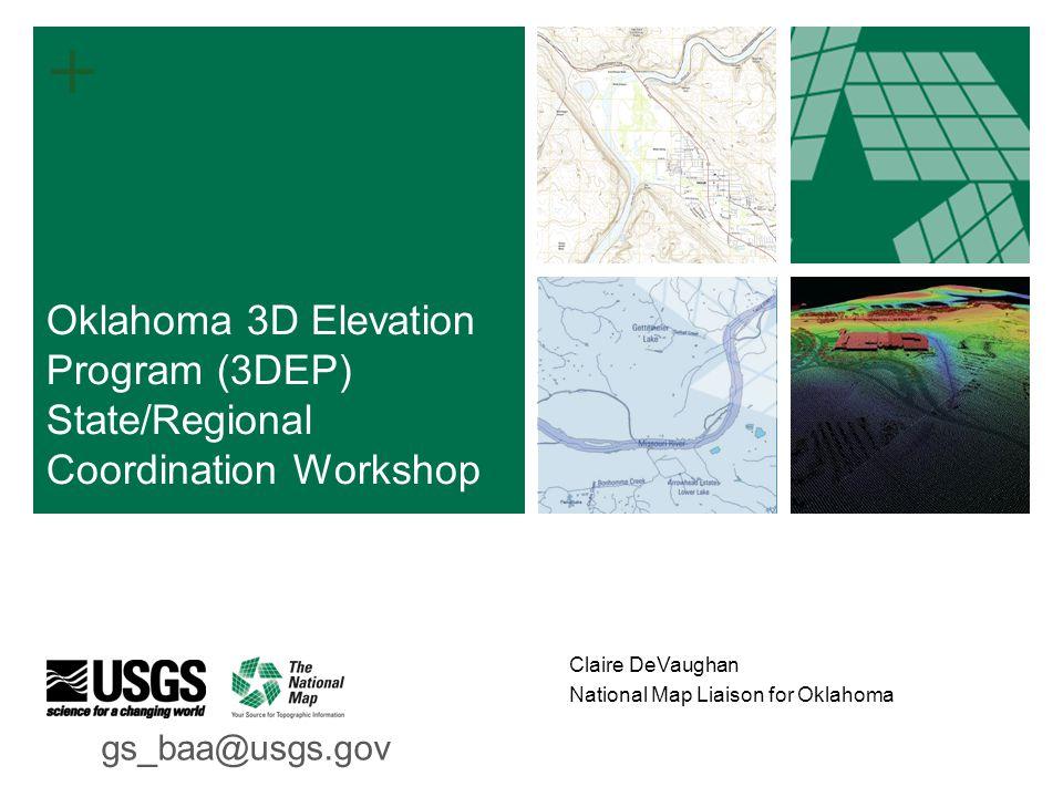 Claire Devaughan National Map Liaison For Oklahoma Oklahoma 3d
