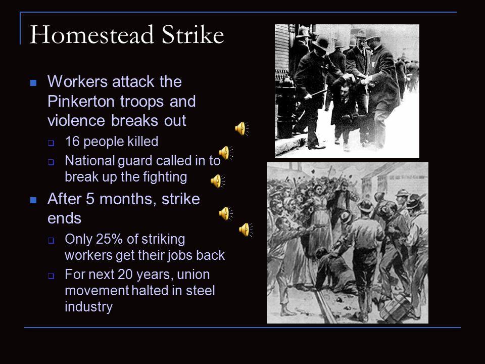 homestead strike definition