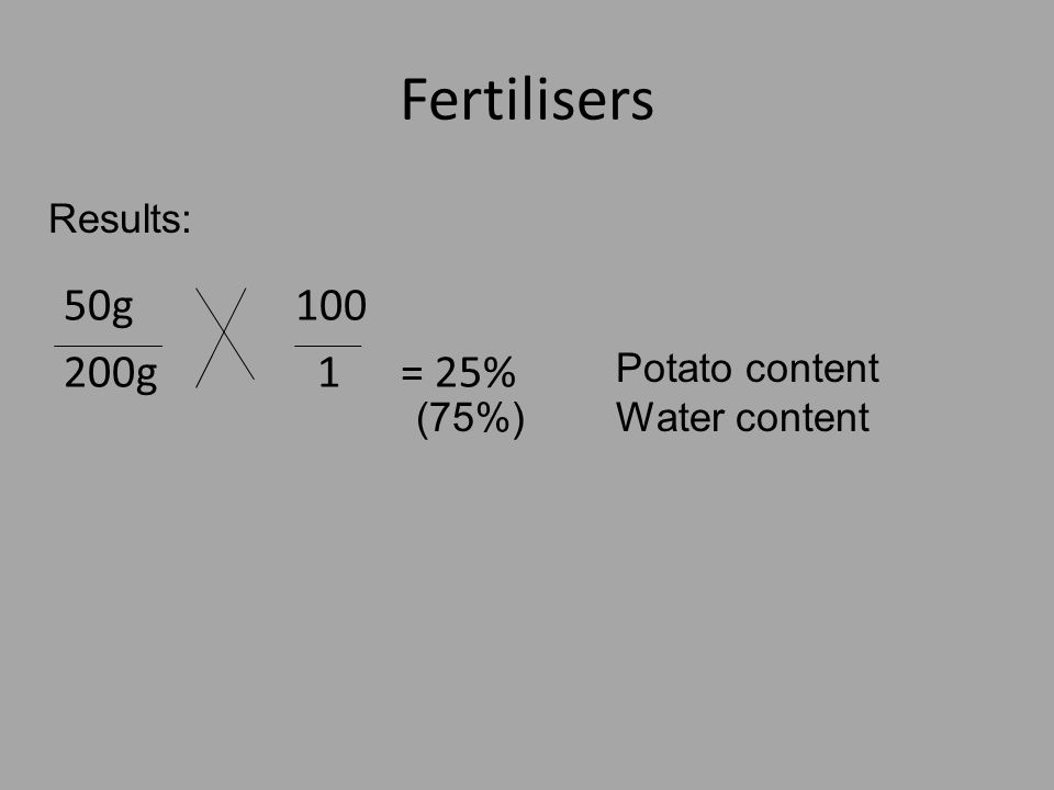 water potential of potato This is the molarity of a solution that has a water potential equal to the water potential of the potato tuber cells 9 use the table below to work out the water potential of a solution having this molarity.