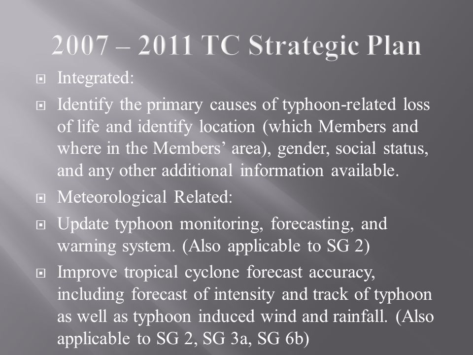  Integrated:  Identify the primary causes of typhoon-related loss of life and identify location (which Members and where in the Members' area), gender, social status, and any other additional information available.