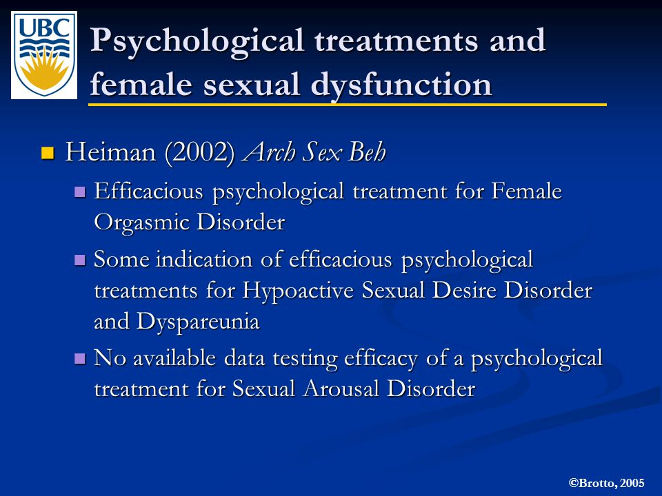 Developing treatments for female sexual dysfunction