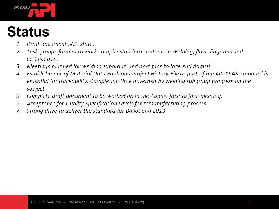 1 API 16 AR Specification for Drill- through Equipment