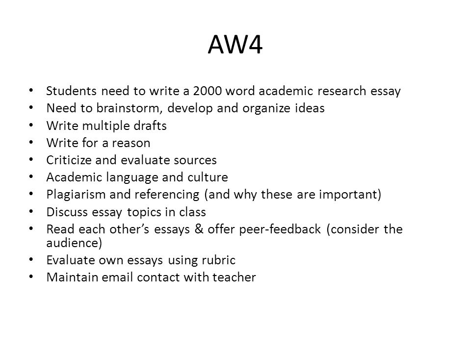 Essay Writing Topics For High School Students  Aw Students Need To Write A  Word Academic Research Essay  Sample Apa Essay Paper also Essay Of Science Academic Writing By Paul Stone Fwu Aep General Points Students Will  Argumentative Essay Thesis
