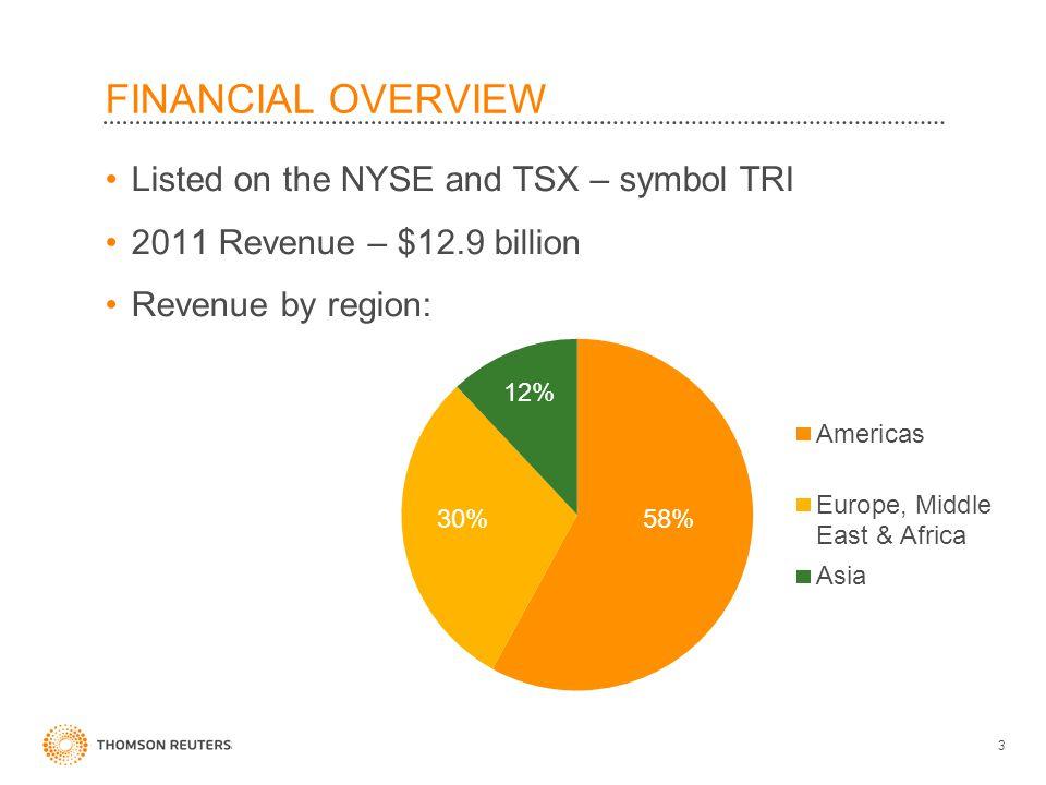 Thomson Reuters 2012 Our Business Reuterscheryl Ravelo July Ppt