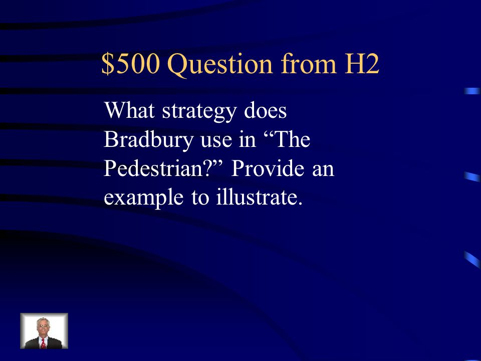 $400 Answer from H2 Symbolism or characterization of Mary.