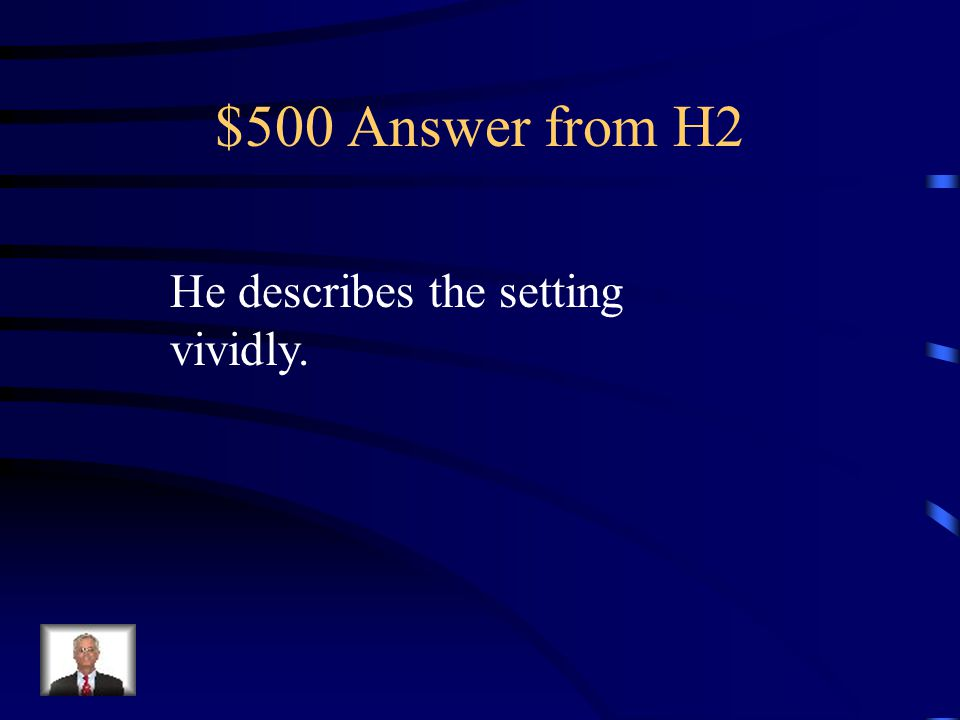 $500 Question from H2 What strategy does Bradbury use in The Pedestrian Provide an example to illustrate.