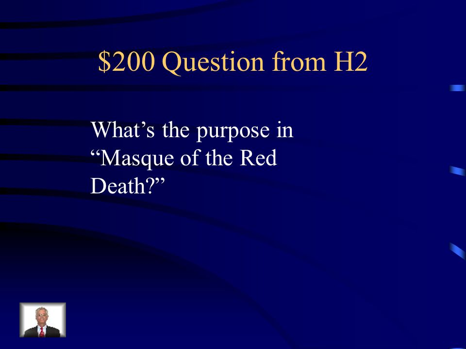 $100 Answer from H2 Don't harm the innocent Or weak people are stronger than You think.