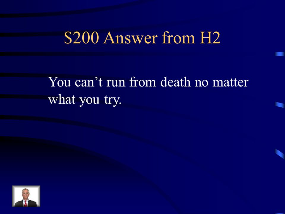 $200 Question from H2 What's the purpose in Masque of the Red Death