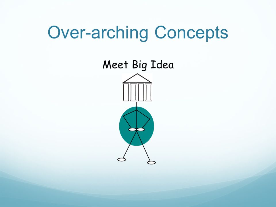 Over-arching Concepts