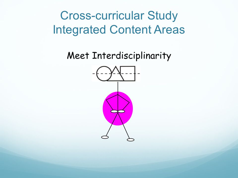 Cross-curricular Study Integrated Content Areas