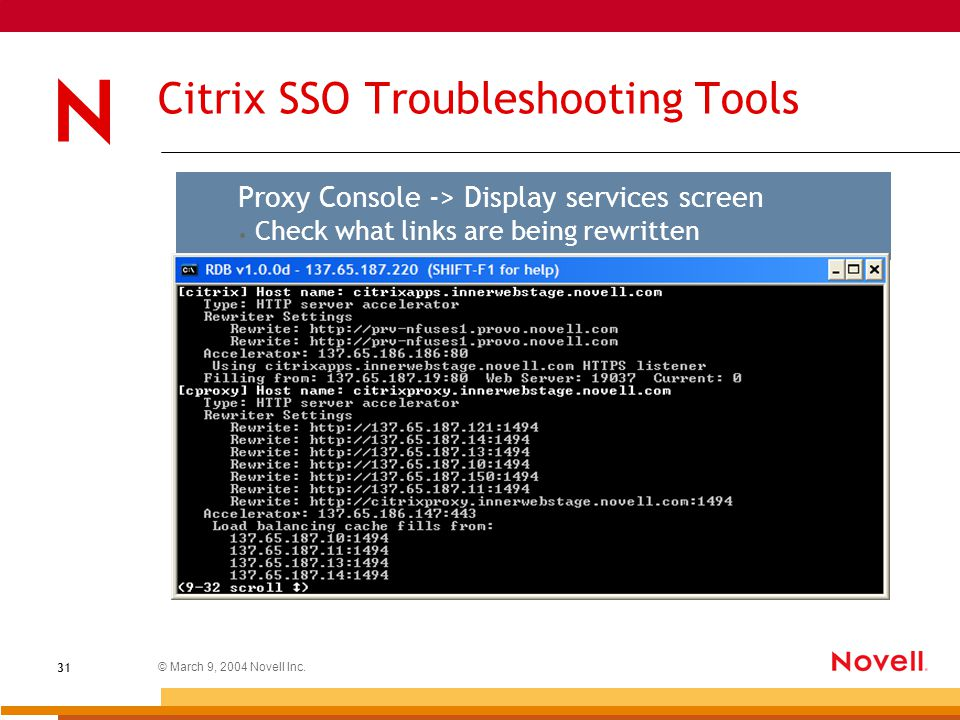 IChain ® 2 3 troubleshooting tools and tips Neil Cashell iChain WWS