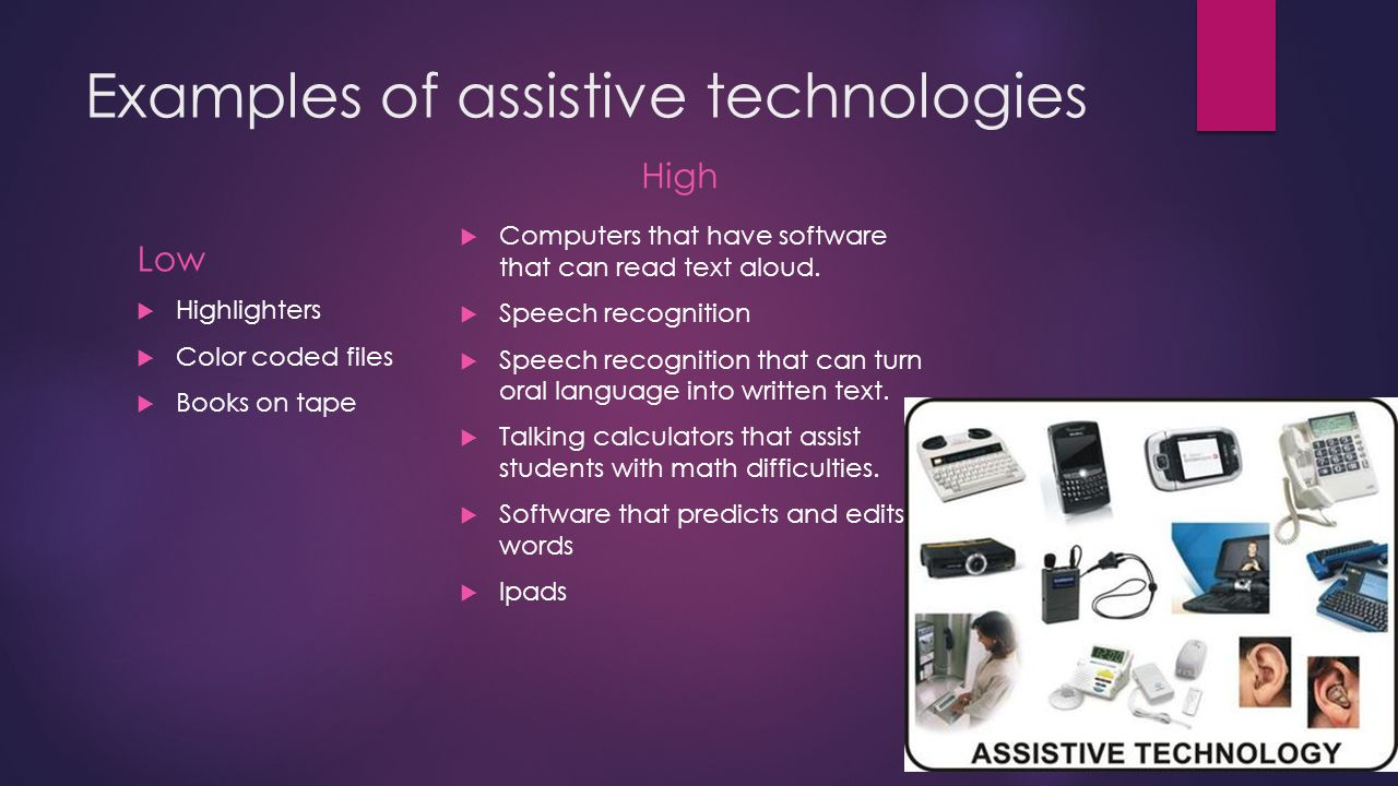 Assistive Technology And Adaptive Technology By Brandie Osborn