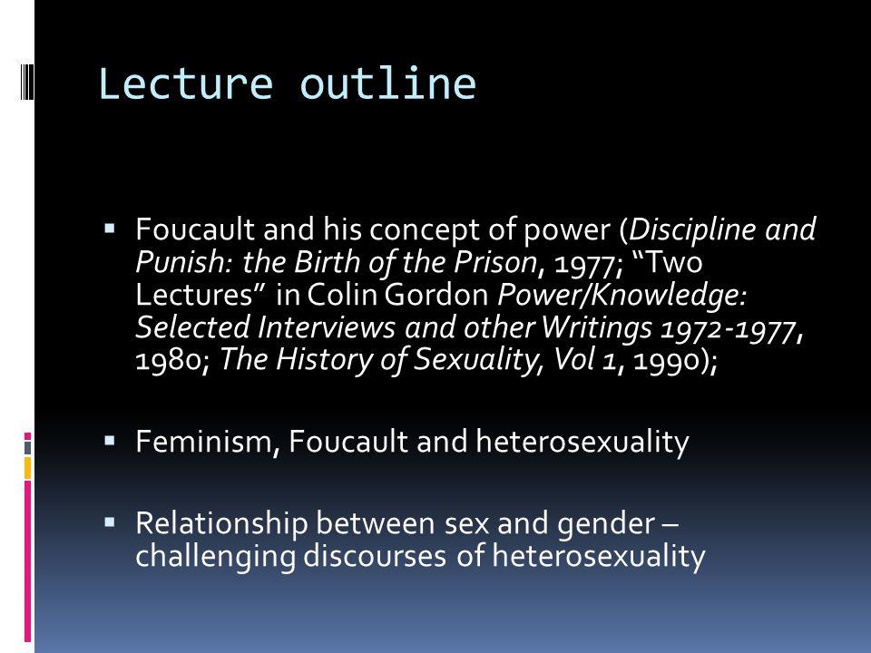 Foucault sexuality feminism