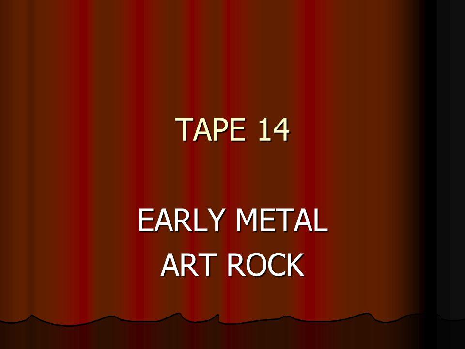 Tape 14 Early Metal Art Rock Stairway To Heaven Led Zeppelin 1971