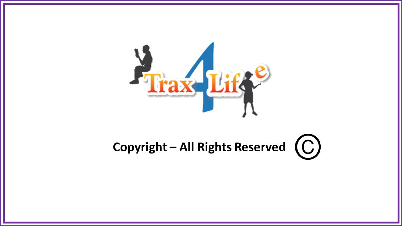 Copyright – All Rights Reserved