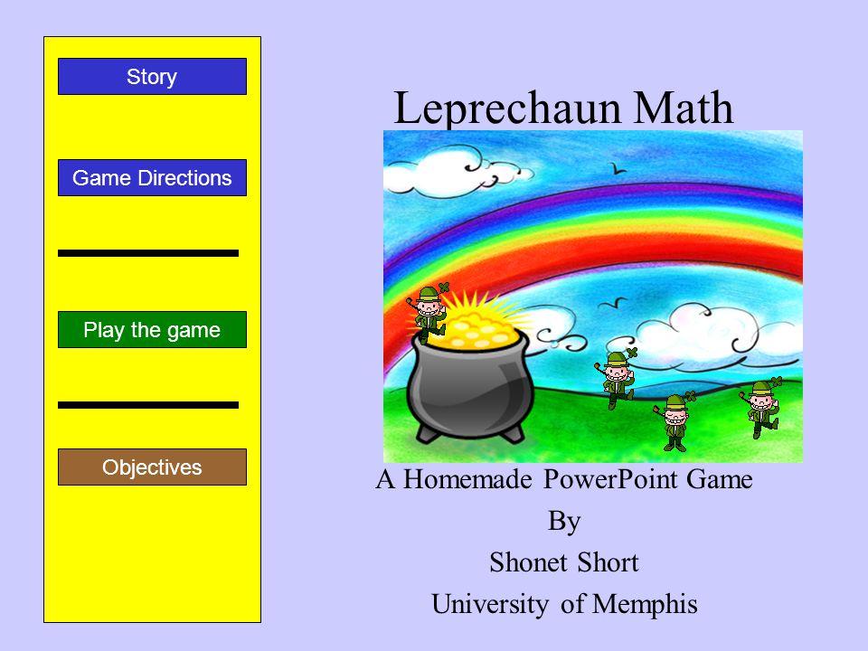 leprechaun math a homemade powerpoint gameshonet short, Presentation templates