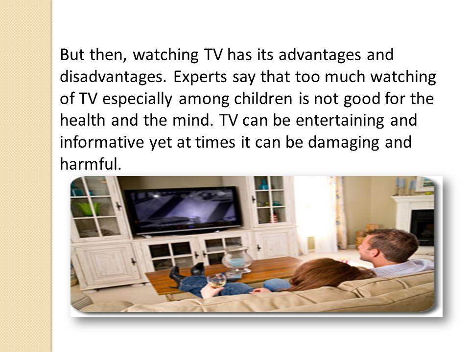 watching tv is harmful