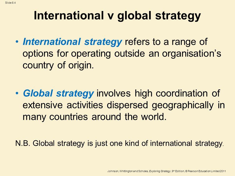 johnson and johnson international strategy