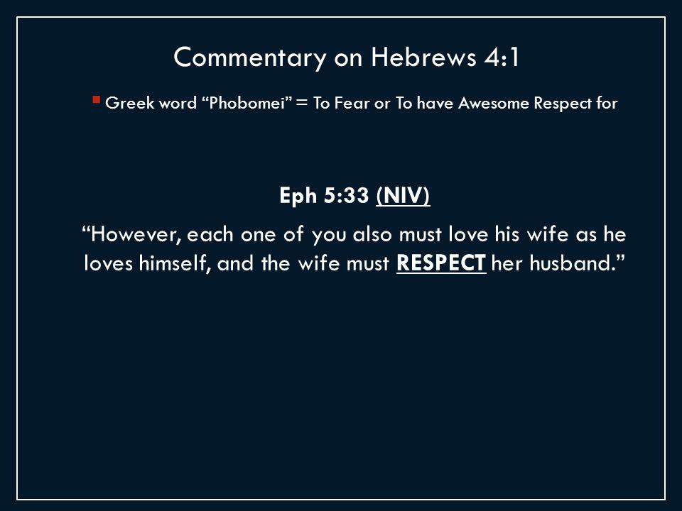 Ef  A Greek Word