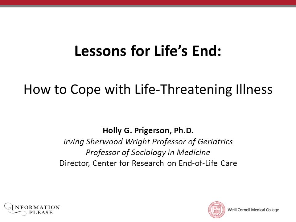 How to Overcome a Life-Threatening Illness