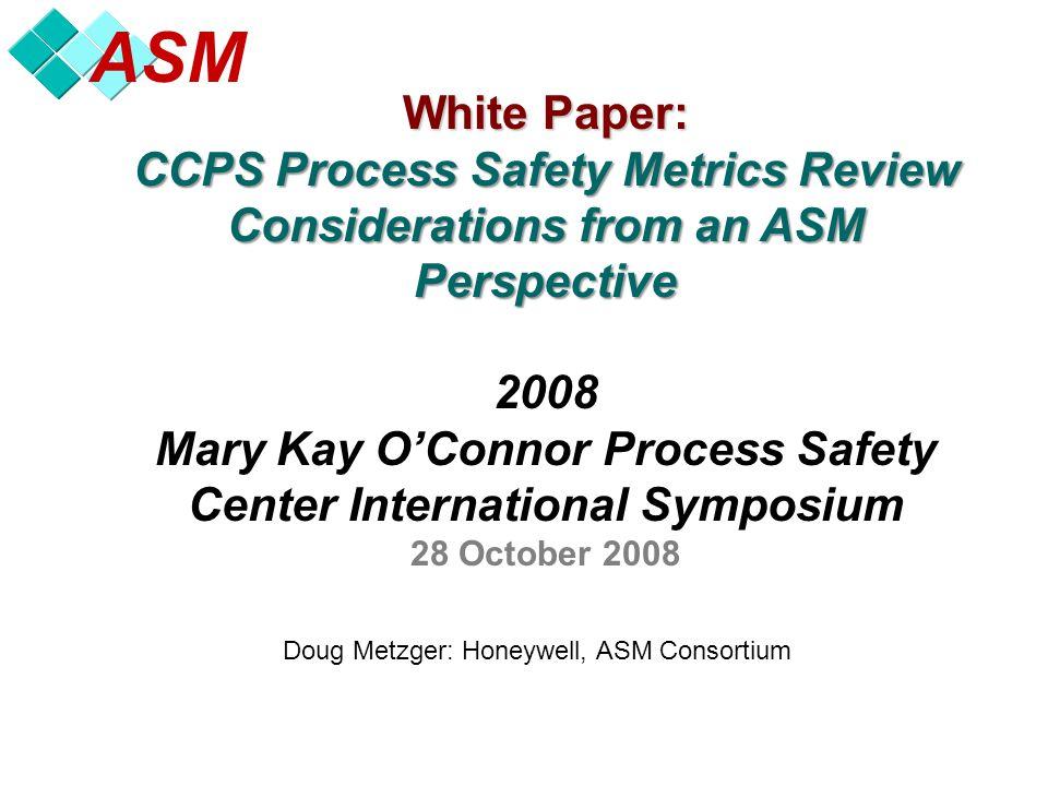 Asm Doug Metzger Honeywell Asm Consortium White Paper Ccps