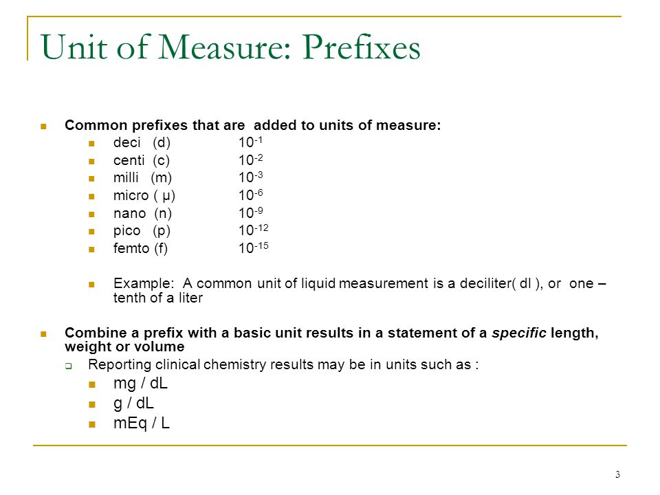 1 MLAB 2401: Clinical Chemistry Chapter 3: Basic Principles