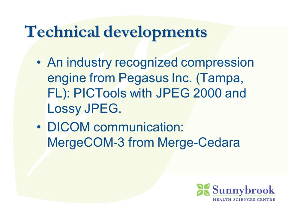 An industry recognized compression engine from Pegasus Inc.