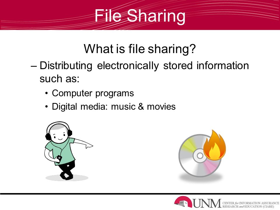 File Sharing What is file sharing.
