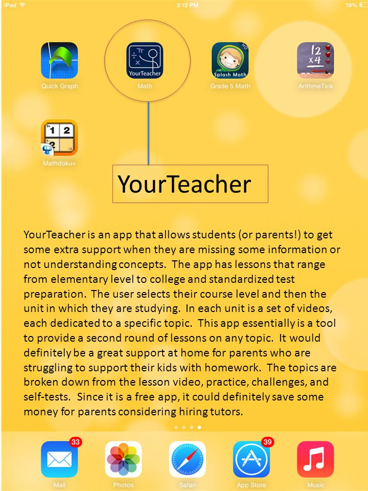 Mobile Apps for Mathematics Education Jesse Mackey  - ppt