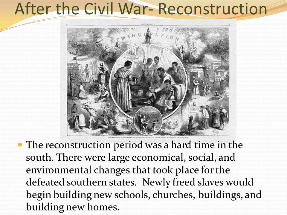 civil war social changes