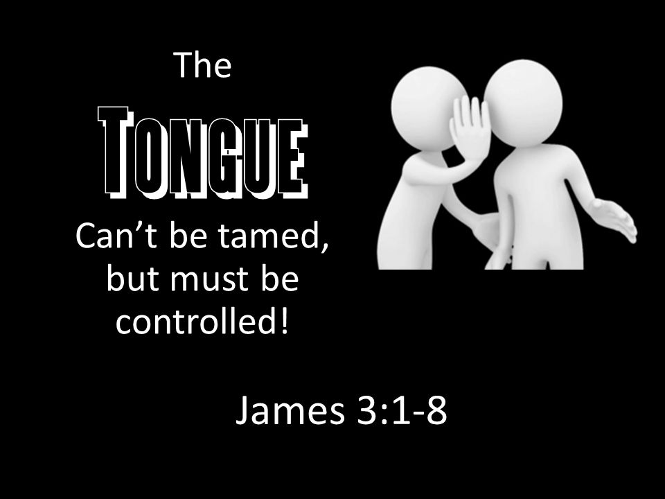 "Some Uses of the Tongue ""There is one who speaks like the"