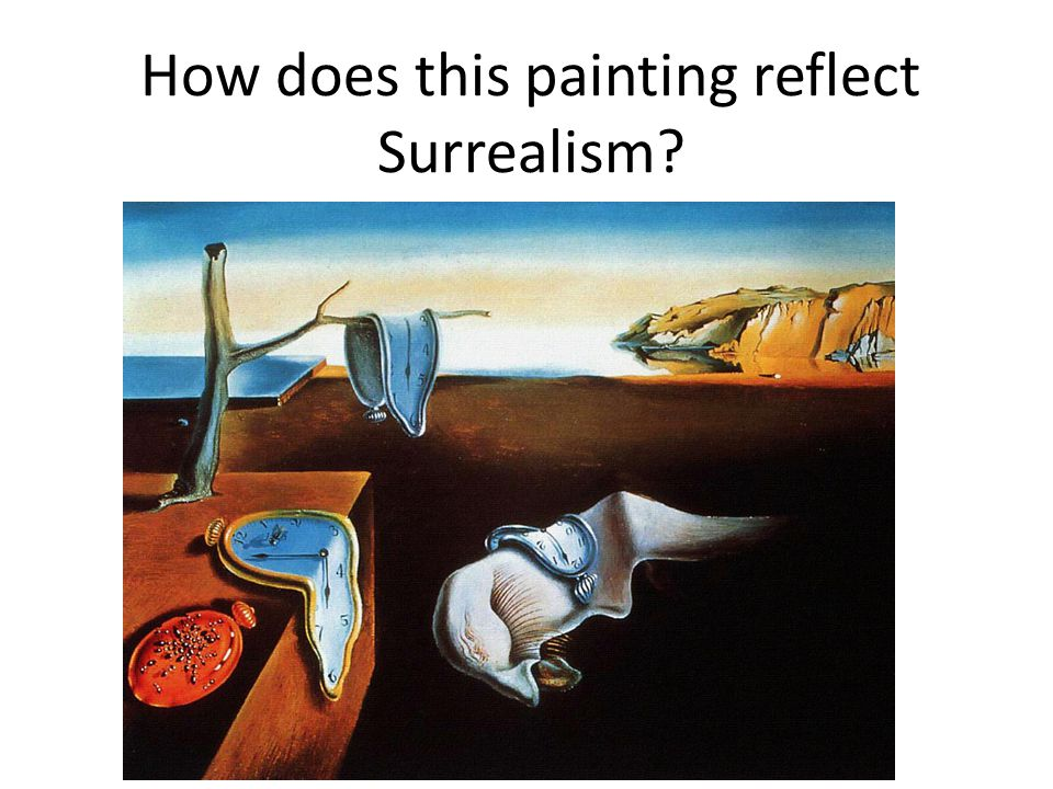 How does this painting reflect Surrealism