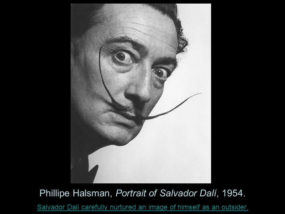 Phillipe Halsman, Portrait of Salvador Dalí, 1954.