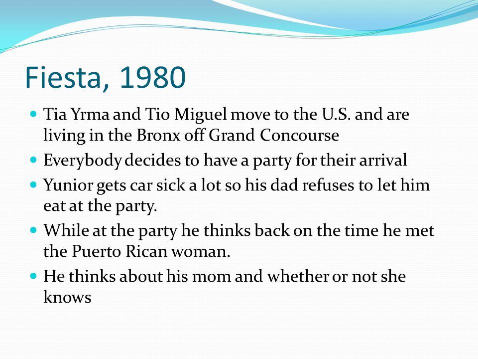 literary analysis fiesta by junot diaz