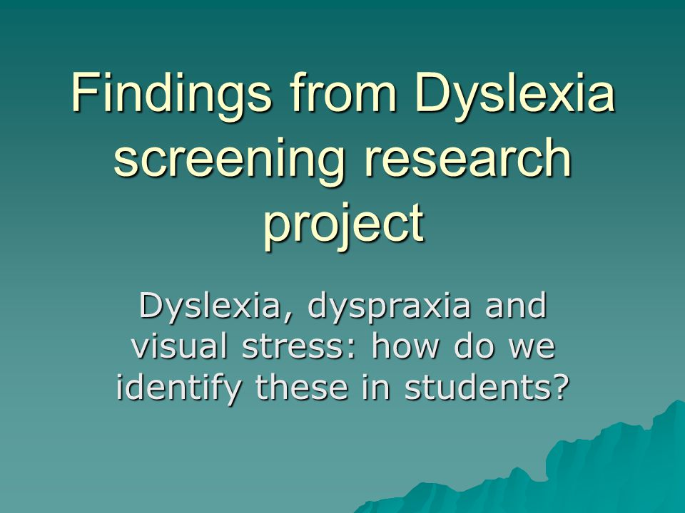 research essays on dyslexia Dyslexia policy and practice have been rapidly outpacing research due to legislation and media attention, schools are under pressure to attend to dyslexia, but research provides few clear answers about characteristics, identification, or instruction.